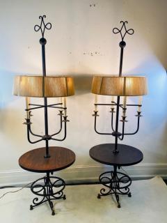 Tommi Parzinger EXTRAORDINARY PAIR OF TOMMI PARZINGER FLOOR LAMPS - 1619118