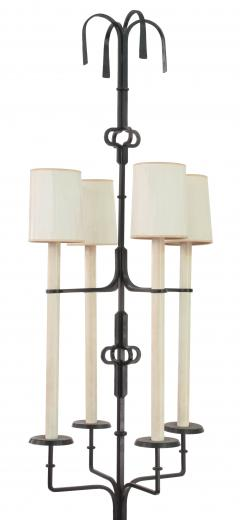 Tommi Parzinger Impressive Wrought Iron Floor Lamp by Tommi Parzinger - 205704