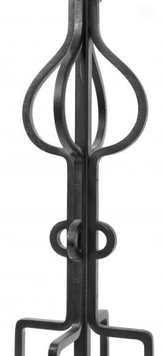 Tommi Parzinger Impressive Wrought Iron Floor Lamp by Tommi Parzinger - 205705