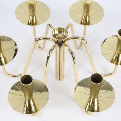 Tommi Parzinger Pair of 1950s Tommi Parzinger Brass Candelabra - 482630