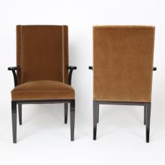 Tommi Parzinger Pair of Aermchairs by Tommi Parzinger for Charak Modern Circa 1940s - 475217