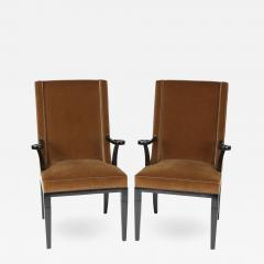 Tommi Parzinger Pair of Aermchairs by Tommi Parzinger for Charak Modern Circa 1940s - 475526
