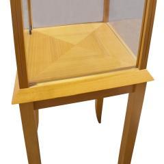 Tommi Parzinger Parzinger Petit Walnut and Glass Display Cabinet 1960s - 1484888