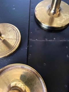 Tommi Parzinger Set of Brass Candelabra and Candlesticks Tommi Parzinger - 1961181