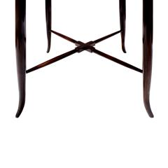 Tommi Parzinger Tommi Parzinger Elegant Side Table With Tapering Legs 1950s - 1423739