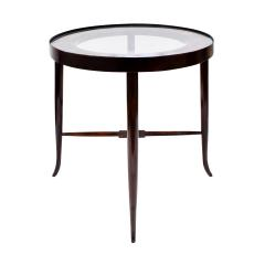 Tommi Parzinger Tommi Parzinger Elegant Side Table With Tapering Legs 1950s - 1423740