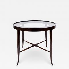 Tommi Parzinger Tommi Parzinger Elegant Side Table With Tapering Legs 1950s - 1426230