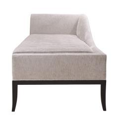 Tommi Parzinger Tommi Parzinger Elegant Sloped Back Chaise 1950s - 2130190