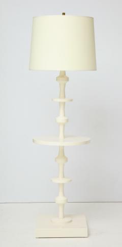 Tommi Parzinger Tommi Parzinger Floor Lamp with Table for Parzinger Originals - 1095505