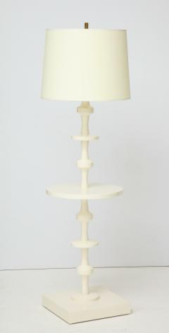 Tommi Parzinger Tommi Parzinger Floor Lamp with Table for Parzinger Originals - 1095506