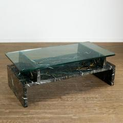 Tommi Parzinger Tommi Parzinger Painted Faux Marble Coffee Table - 1991518