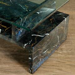 Tommi Parzinger Tommi Parzinger Painted Faux Marble Coffee Table - 1991521