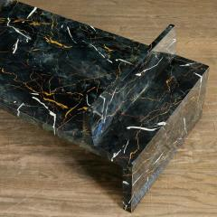 Tommi Parzinger Tommi Parzinger Painted Faux Marble Coffee Table - 1991522