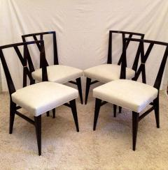 Tommi Parzinger Tommi Parzinger Rare Table and Four X Chairs - 1823799