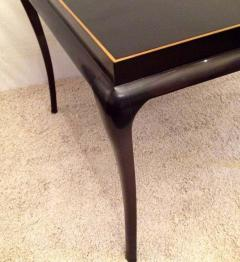 Tommi Parzinger Tommi Parzinger Rare Table and Four X Chairs - 1823801