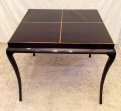 Tommi Parzinger Tommi Parzinger Rare Table and Four X Chairs - 1823802