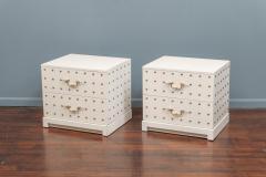 Tommi Parzinger Tommi Parzinger Two Drawer Studded Dressers - 1977260