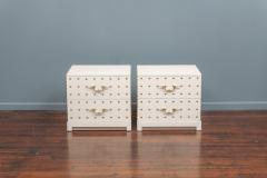 Tommi Parzinger Tommi Parzinger Two Drawer Studded Dressers - 1977261