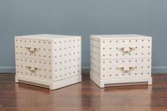 Tommi Parzinger Tommi Parzinger Two Drawer Studded Dressers - 1977263