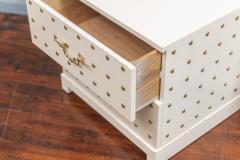 Tommi Parzinger Tommi Parzinger Two Drawer Studded Dressers - 1977264