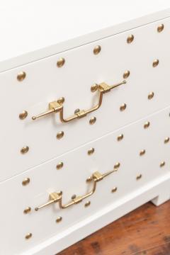 Tommi Parzinger Tommi Parzinger Two Drawer Studded Dressers - 1977265