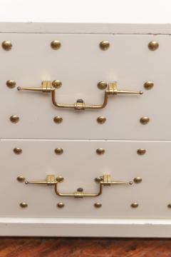 Tommi Parzinger Tommi Parzinger Two Drawer Studded Dressers - 1977266