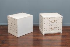 Tommi Parzinger Tommi Parzinger Two Drawer Studded Dressers - 1977268