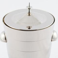 Tommi Parzinger Tommi Parzinger polished nickel ice bucket circa 1950s - 837876