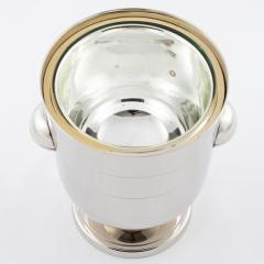 Tommi Parzinger Tommi Parzinger polished nickel ice bucket circa 1950s - 837880