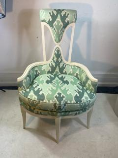 Tommi Parzinger UNUSUAL HOLLYWOOD REGENCY CHAIR IN THE MANNER OF TOMMI PARZINGER - 1851492