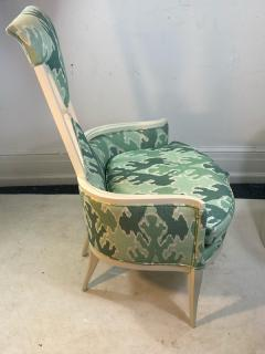 Tommi Parzinger UNUSUAL HOLLYWOOD REGENCY CHAIR IN THE MANNER OF TOMMI PARZINGER - 1851496