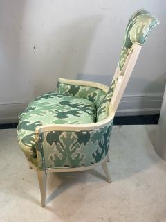 Tommi Parzinger UNUSUAL HOLLYWOOD REGENCY CHAIR IN THE MANNER OF TOMMI PARZINGER - 1851497