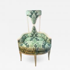Tommi Parzinger UNUSUAL HOLLYWOOD REGENCY CHAIR IN THE MANNER OF TOMMI PARZINGER - 1853867