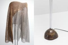 Toni Cordero di Montezemolo Artemide ChainMail Floor Lamp Anchise by Toni Cordero 1980s - 1006551