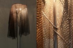 Toni Cordero di Montezemolo Artemide ChainMail Floor Lamp Anchise by Toni Cordero 1980s - 1006553