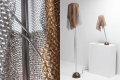 Toni Cordero di Montezemolo Artemide ChainMail Floor Lamp Anchise by Toni Cordero 1980s - 1006554