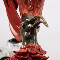 Toni Zuccheri Upupa Murano glass sculpture on bronze feet Toni Zuccheri Venini - 1615739