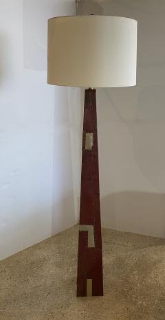 Tony Berlant American Modern Sculptural Steel and Enameled Floor Lamp Tony Berlant - 1899047