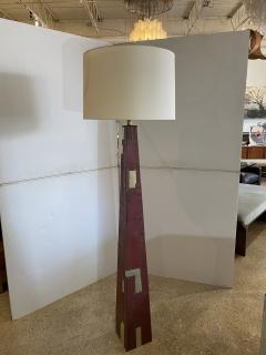Tony Berlant American Modern Sculptural Steel and Enameled Floor Lamp Tony Berlant - 1899048