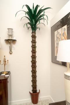 Tony Duquette Pair of Palm Tree Form Torcheres - 975996