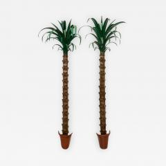 Tony Duquette Pair of Palm Tree Form Torcheres - 976763