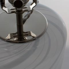 Torben J rgensen Torben J rgensen Misty swirled glass table lamp for Holmegaard circa 1980s - 1053293