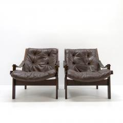Torbj rn Afdal Pair of Torbj rn Afdal Easy Chairs 1960s - 1069342