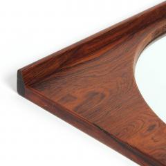 Torbj rn Afdal Rosewood Wall Mirror by Torbj rn Afdal - 614390