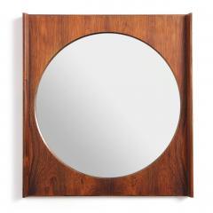Torbj rn Afdal Rosewood Wall Mirror by Torbj rn Afdal - 614391