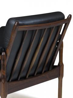 Torbj rn Afdal Torbj rn Afdal Rosewood Lounge Chairs - 990193