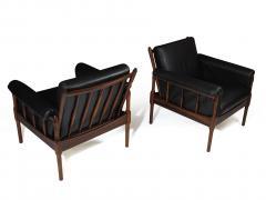 Torbj rn Afdal Torbj rn Afdal Rosewood Lounge Chairs - 990198