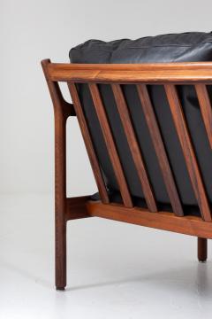 Torbjorn Afdal Midcentury Scandinavian Sofa in Leather and Rosewood by Torbj rn Afdal - 1690126