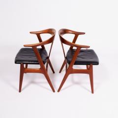 Torbjorn Afdal Pair arm chairs by Torbjorn Afdal for Bruksbo - 1862409