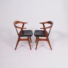 Torbjorn Afdal Pair arm chairs by Torbjorn Afdal for Bruksbo - 1862410